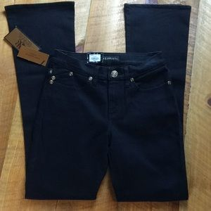 Rock and Republic black Kendra jeans Size 8 NWT